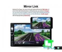 Player auto 2din mp5 cu ecran touchscreen 7 inch +CAMERA +RAMA 250 lei PRODUS NOU!!!!Livrare prin c - Imagine 4/6