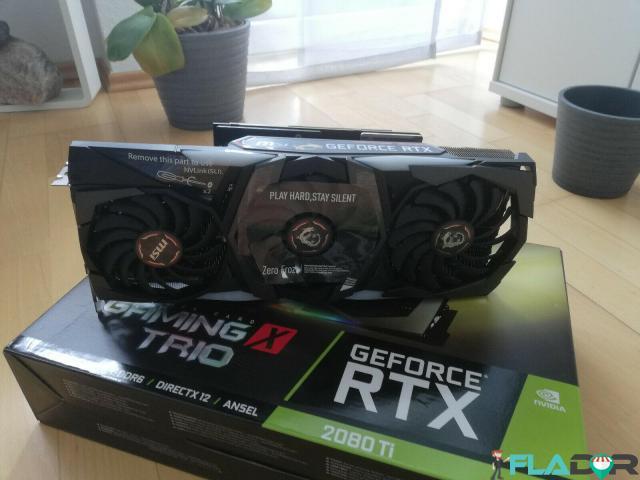 For sale MSI GeForce RTX 2080 Ti GAMING X TRIO - 1/3
