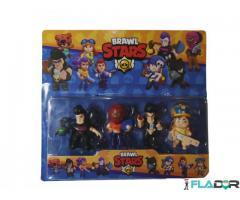 Set de 4 figurine Brawl Stars - Mortis, Tara, Bull, Jessie