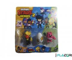 Set 2 figurine si un ou Brawl Stars Heroes 2 - Crow, Spike