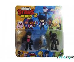 Set 2 figurine si un ou Brawl Stars Heroes 2 - Bibi, Shelly