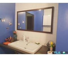 Oglinda baie 126x66cm