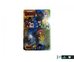 Set 1 figurina si un ou surpriza Brawl Stars Heroes 2 - Poco si ou surpriza alb