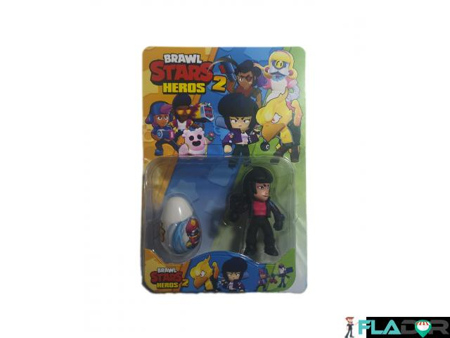 Set o figurina si un ou surpriza Brawl Stars Heroes 2 - 1/2
