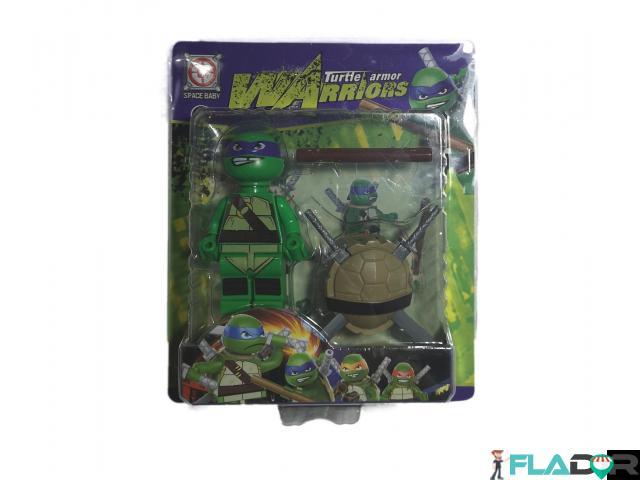 Figurina Testoasele Ninja Turtle Armor Warriors -Donatello - Purple - 1/2