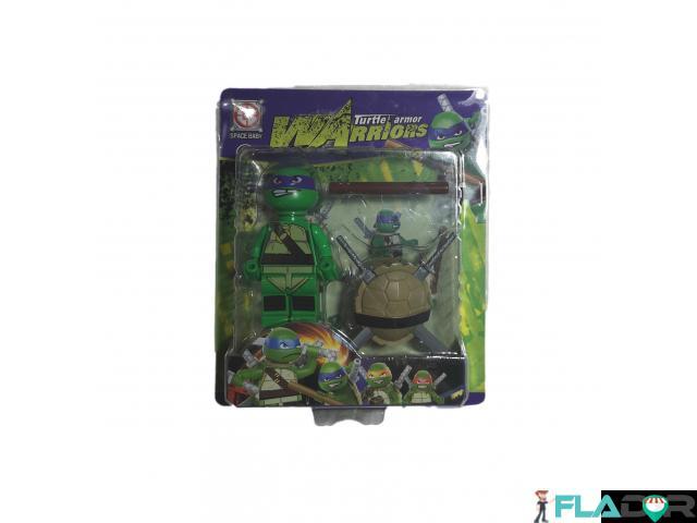 Figurina Testoasele Ninja Turtle Armor Warriors -Donatello - Purple - 2/2