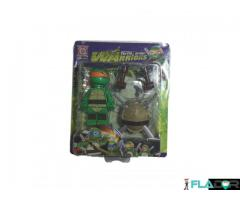 Figurina Testoasele Ninja - Turtle Armor Warriors - Michelangelo