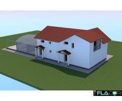 Teren Intravilan 4380mp Cu proiect finalizat