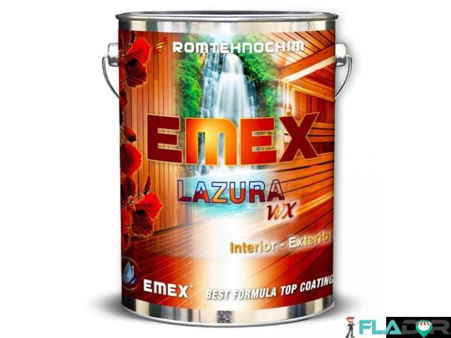 Lac Colorat cu Bait pentru Lemn EMEX WX - 1/1