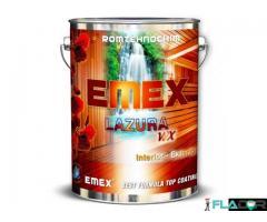 Lac Colorat cu Bait pentru Lemn EMEX WX