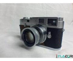 """Leica M2"" 35 mm atstumo kino kamera 50mm Summicron objektyvas."