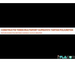 CONSTRUCTIE TEREN MULTISPORT SUPRAFATA TARTAN POLIURETAN