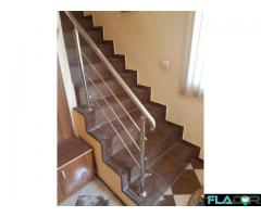 Balustrade inox ,Litere volumetrice luminate