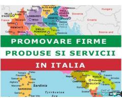 Promovare produse si servicii Italia. Optimizare SEO Italia